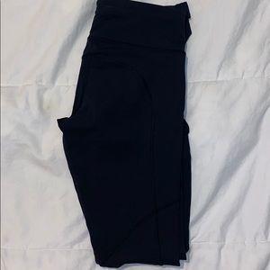 Black Lululemon Speed Up Leggings (size 4)